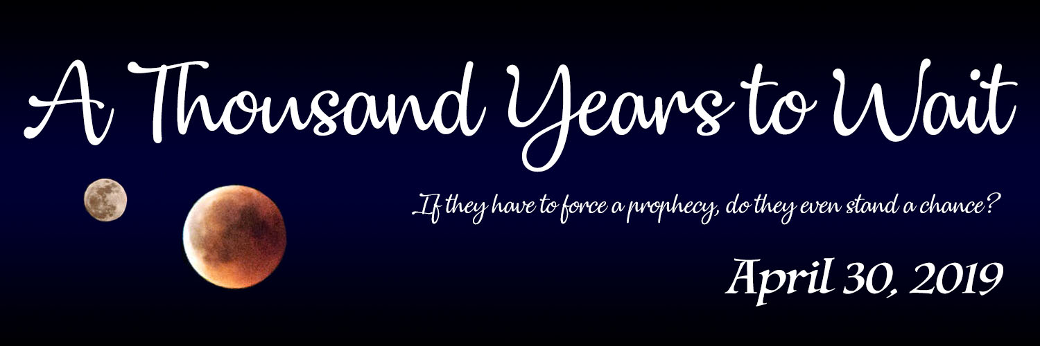 Banner for A Thousand Years to Wait