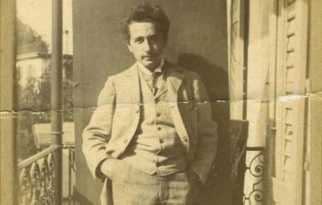 visual - Albert Einstein